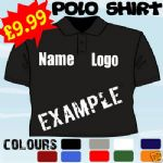 CAR MECHANIC BUSINESS STAFF PERSONALISED T POLO SHIRT